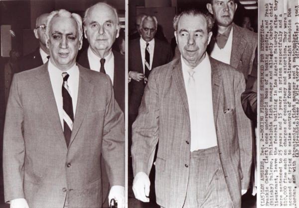 Carbo e Palermo amargaram um quarto de século de cadeia pelas atividades criminosas da máfia